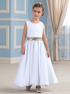 Ericdress Beautiful Sequins A Line Flower Girl Dress