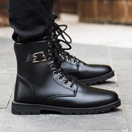 Ericdress Vintage Lace Up Men's Martin Boots