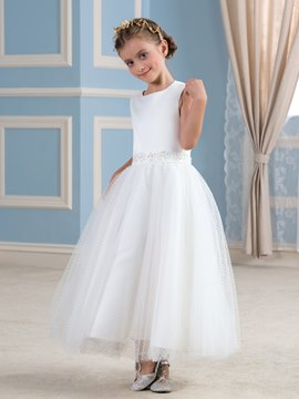 Ericdress Simple A Line Flower Girl Dress