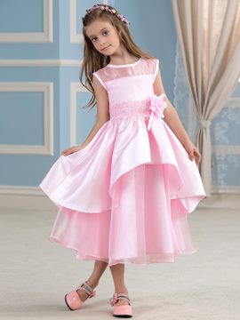 Ericdress Cute Jewel A Line Flower Girl Dress