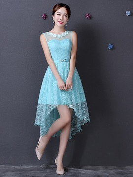 Ericdress Beautiful High Low Lace Bridesmaid Dress