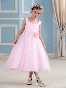 Ericdress Beautiful Straps A Line Flower Girl Dress