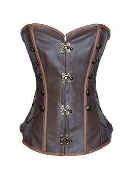 Ericdress Chain Decorated Overbust Corset
