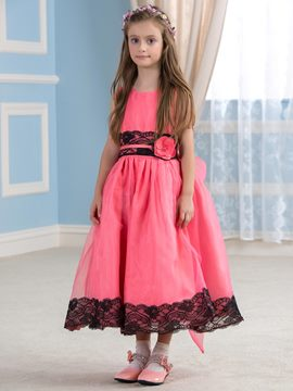 Ericdress Beautiful Jewel A Line Flower Girl Dress