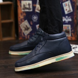 Ericdress Simple Lace up Men's Ankle Boots