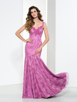 Ericdress Sweetheart Appliques Sequins Lace Evening Dress