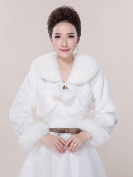 Ericdress Beautiful Long Sleeves Wedding Jacket