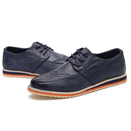 Ericdress Point Toe Men's Brogues