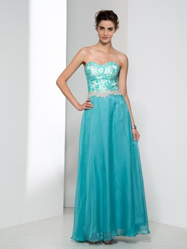 Ericdress A-Line Sweetheart Beading Lace Prom Dress