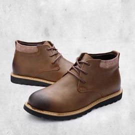 Ericdress Retro Brush-Off Men's Martin Boots