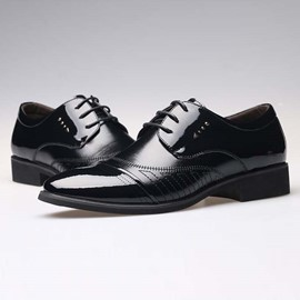 Ericdress Point Toe Lace up Men's Oxfords