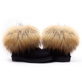 Ericdress Hot Selling Furry Snow Boots
