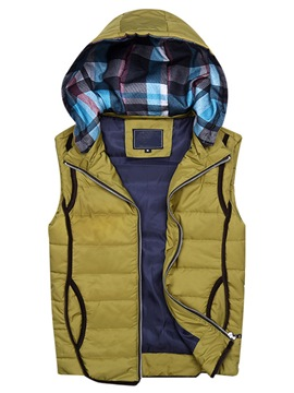 Ericdress Multi-Color Thicken Warm Men's Vest