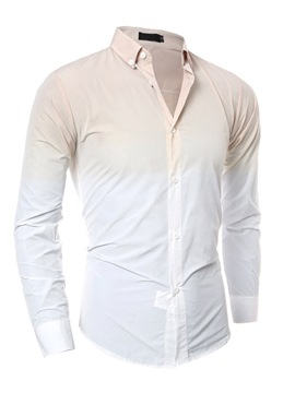Ericdress Long Sleeve Gradient Men's Shirt