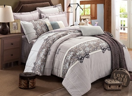 Ericdress Leopard Patchwork 4-Piece Cotton Bedding Sets