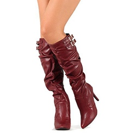 Ericdress Popular Point Toe Knee High Boots