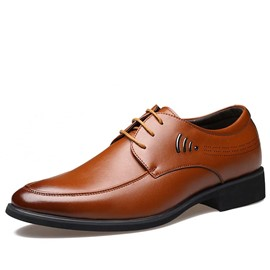Ericdress Vintage Point Toe Men's Oxfords