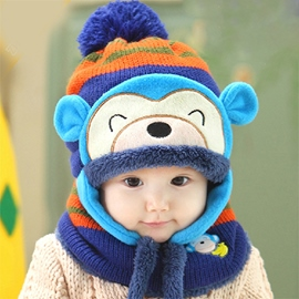 Ericdress Hip Hop Monkey Kids Hat