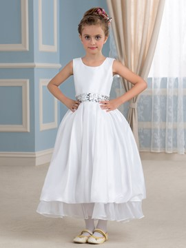 Ericdress Simple Flower Girl Dress