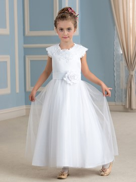 Ericdress Jewel A Line Flower Girl Dress