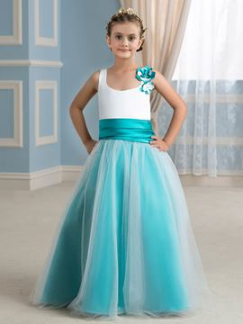 Ericdress Comfortable Straps A Line Flower Girl Dress