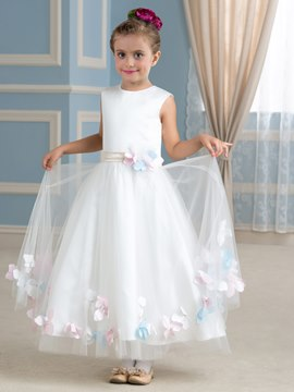 Ericdress Beautiful Flowers Flower Girl Dress