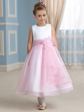 Ericdress Beautiful A Line Sleeveless Flower Girl Dress