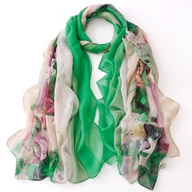 Ericdress Artistic Painting Chiffon Scarf