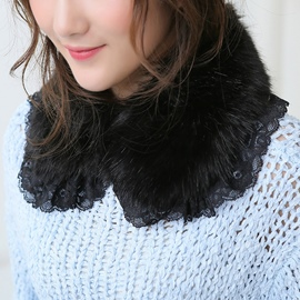 Ericdress Lace Artificial Wool Neckwarmer