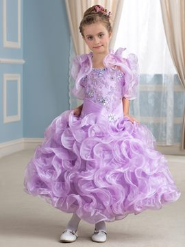 Ericdress Gorgeous Beadings Flower Party Dress