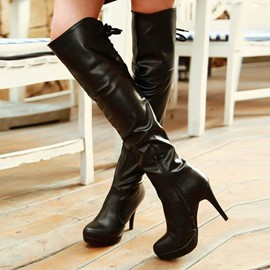 Ericdress PU Over Knee High Boots