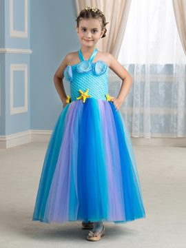 Ericdress Delicate Halter Starfish A Line Flower Girl Dress