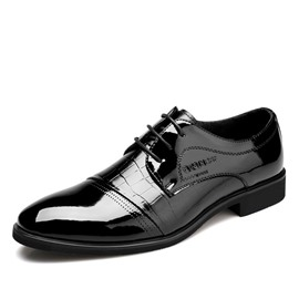 Ericdress Croco Patchwork Men's Oxfords