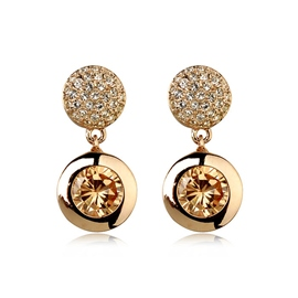 Ericdress Diamante Alloy Earrings