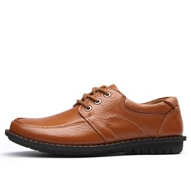 Ericdress Solid Color Lace up Men's Oxfords