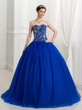 Ericdress Ball Sweetheart Beading Sequins Quinceanera Dress