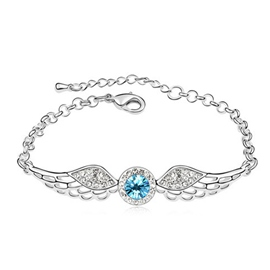 Ericdress Angle Wing Crystal Bracelet