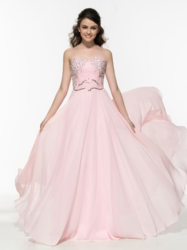 Ericdress A-Line Sweetheart Beading Sequins Prom Dress