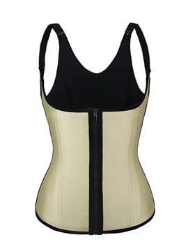 Ericdress Strap Zip Body Shape Corset