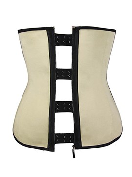 Ericdress Zip Underbust Waist Training Corset