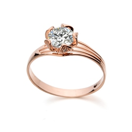 Ericdress Bud Design Diamond Ring