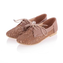 Ericdress Lovely Girl Lace Flats