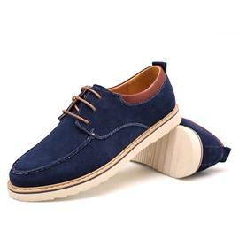 Ericdress Suede Lace up Men's Flats