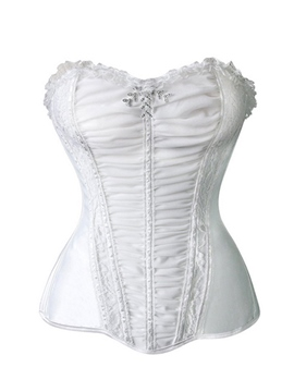Ericdress Strapless Laciness Corset