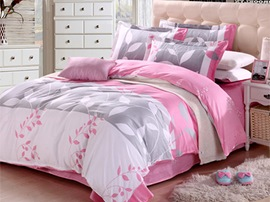 Ericdress Leaves Romance 4-Piece Cotton Bedding Sets