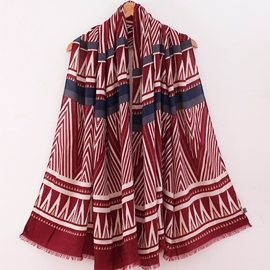 Ericdress Exotic Rhombus Patchwork Scarf