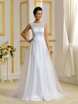 Ericdress High Quality A Line Lace Wedding Dress