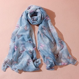 Ericdress Clear Butterfly Dancing Scarf