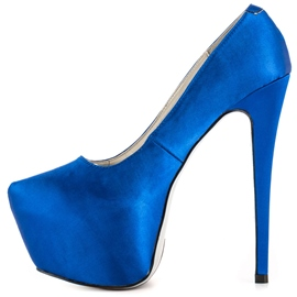 Ericdress Bright Royal Blue Pumps