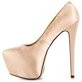 Ericdress Bright Champagne Pumps